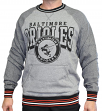 "Baltimore Orioles Mitchell & Ness MLB ""Broad Street"" Men's Crew Sweatshirt"
