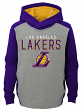 "Los Angeles Lakers Youth NBA ""Fadeaway"" Pullover Hooded Sweatshirt"