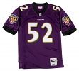 Ray Lewis Baltimore Ravens Mitchell & Ness Authentic 2000 Purple NFL Jersey