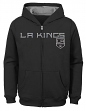 "Los Angeles Kings Youth NHL ""Shoot & Score"" Full Zip Hooded Sweatshirt"