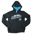 "San Jose Sharks Youth NHL ""Shoot & Score"" Full Zip Hooded Sweatshirt"