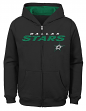 "Dallas Stars Youth NHL ""Shoot & Score"" Full Zip Hooded Sweatshirt"
