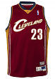 Lebron James Cleveland Cavaliers NBA Youth Throwback 2003-04 Swingman Jersey