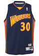 Stephen Curry Golden State Warriors  NBA Youth Throwback 2009-10 Swingman Jersey