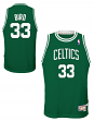 Larry Bird Boston Celtics NBA Youth Throwback Swingman Jersey - Green