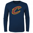 "Cleveland Cavaliers Youth NBA ""Primary Logo"" Long Sleeve T-Shirt"