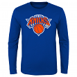 "New York Knicks Youth NBA ""Primary Logo"" Long Sleeve T-Shirt"