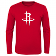 "Houston Rockets Youth NBA ""Primary Logo"" Long Sleeve T-Shirt"