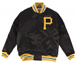 "Pittsburgh Pirates Mitchell & Ness MLB ""History"" Premium Satin Jacket"