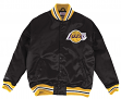 "Los Angeles Lakers Mitchell & Ness NBA ""History"" Premium Satin Jacket"