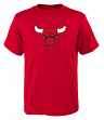 "Chicago Bulls Youth NBA ""Primary Logo"" Short Sleeve T-Shirt"