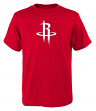"Houston Rockets Youth NBA ""Primary Logo"" Short Sleeve T-Shirt"