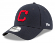 "Cleveland Indians New Era MLB 9Forty ""The League"" Adjustable Hat - Road"