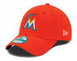 "Miami Marlins New Era MLB 9Forty ""The League"" Adjustable Hat - Road"