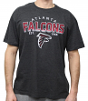 "Atlanta Falcons NFL G-III ""Playoff"" Men's Dual Blend S/S T-shirt - Black"