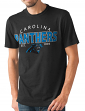 "Carolina Panthers NFL G-III ""Playoff"" Men's Dual Blend S/S T-shirt - Black"