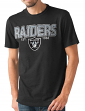"Oakland Raiders NFL G-III ""Playoff"" Men's Dual Blend S/S T-shirt - Black"