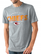 "Kansas City Chiefs NFL G-III ""Playoff"" Men's Dual Blend S/S T-shirt - Graphite"