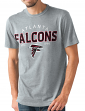 "Atlanta Falcons NFL G-III ""Playoff"" Men's Dual Blend S/S T-shirt - Graphite"