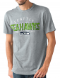 "Seattle Seahawks NFL G-III ""Playoff"" Men's Dual Blend S/S T-shirt - Graphite"