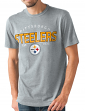 "Pittsburgh Steelers NFL G-III ""Playoff"" Men's Dual Blend S/S T-shirt - Graphite"