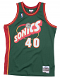 Shawn Kemp Seattle Supersonics Mitchell & Ness NBA Swingman HWC Jersey - Green