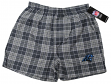 "Carolina Panthers NFL ""Roster"" Men's Cotton Flannel Boxer"