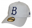 "Brooklyn Dodgers New Era MLB 9Twenty Cooperstown ""Core Classic Twill"" Gray Hat"
