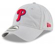 "Philadelphia Phillies New Era 9Twenty ""Core Classic Twill"" Adjustable Gray Hat"