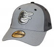 "Baltimore Orioles New Era MLB 9Forty ""The League Pop"" Adjustable Hat - Gray"