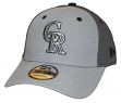 "Colorado Rockies New Era MLB 9Forty ""The League Pop"" Adjustable Hat - Gray"