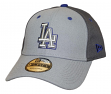 "Los Angeles Dodgers New Era MLB 9Forty ""The League Pop"" Adjustable Hat - Gray"