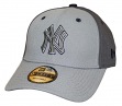 "New York Yankees New Era MLB 9Forty ""The League Pop"" Adjustable Hat - Gray"