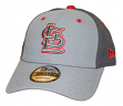 """St. Louis Cardinals New Era MLB 9Forty """"The League Pop"""" Adjustable Hat - Gray"""