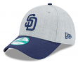 """San Diego Padres New Era 9Forty MLB """"The League Heather 3"""" Adjustable Hat"""