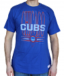 "Chicago Cubs MLB Mitchell & Ness ""Pennant"" Vintage Premium Men's T-Shirt"