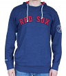 "Boston Red Sox Mitchell & Ness MLB ""Away Team"" Long Sleeve Hooded Men's Shirt"