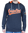 "Baltimore Orioles Mitchell & Ness MLB ""Away Team"" Long Sleeve Hooded Men's Shirt"