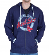 "Boston Red Sox Mitchell & Ness MLB ""Sweep"" Full Zip Hooded Sweatshirt"
