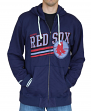 "Boston Red Sox Mitchell & Ness MLB ""No Grind"" Full Zip Hooded Sweatshirt"
