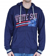 "Chicago White Sox Mitchell & Ness MLB ""No Grind"" Full Zip Hooded Sweatshirt"