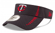 "Minnesota Twins New Era MLB ""Speed"" Performance Visor"