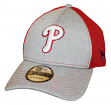 "Philadelphia Phillies New Era 9Forty MLB ""Shadow Turn 2"" Adjustable Hat - Gray"
