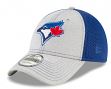 "Toronto Blue Jays New Era 9Forty MLB ""Shadow Turn 2"" Adjustable Hat - Gray"
