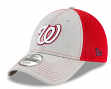 "Washington Nationals New Era 9Forty MLB ""Shadow Turn 2"" Adjustable Hat - Gray"