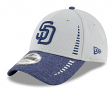 "San Diego Padres New Era 9Forty MLB ""Speed Tech 2"" Performance Adjustable Hat"