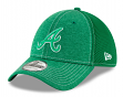 "Atlanta Braves New Era MLB 39THIRTY ""St. Patrick's Classic Shade"" Flex Fit Hat"