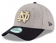 Notre Dame Fighting Irish New Era 9Forty NCAA The League Heather Adjustable Hat