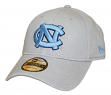 "North Carolina Tarheels New Era NCAA 9Twenty ""Core Classic"" Adjustable Gray Hat"