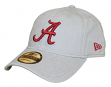 "Alabama Crimson Tide New Era NCAA 9Twenty ""Core Classic"" Adjustable Gray Hat"